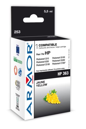 Armor ink-jet pro HP PSC3210 6ml C8773E Yellow