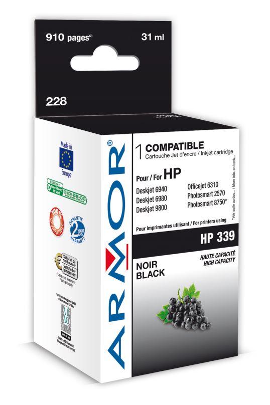 Armor ink-jet pro HP DJ 5740 31ml C8767E Bk