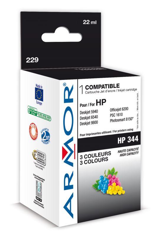 Armor ink-jet pro HP DJ 5740 22ml C9363E Color
