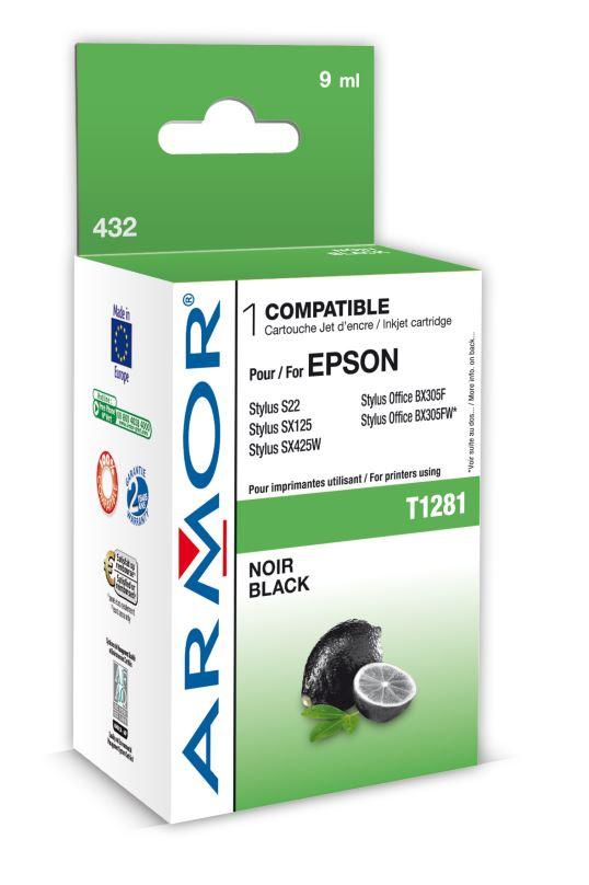 Armor ink-jet pro Epson S22,SX125 T128140 Bk