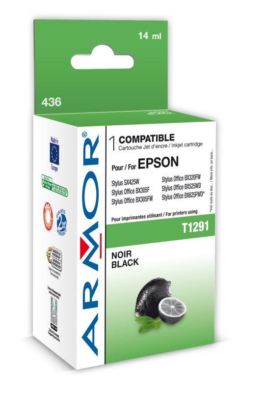 Armor ink-jet pro Epson SX425W,BX305F T129140 Bk