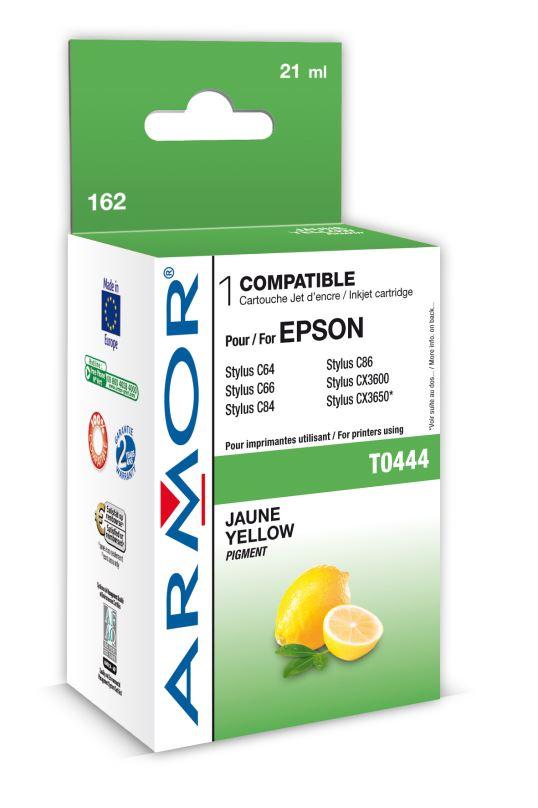 Armor ink-jet pro Epson C64/84 (T044440), 20ml, Y