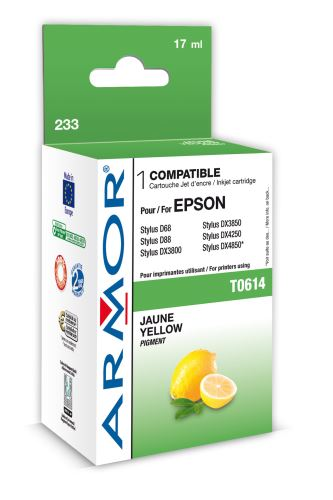 Armor ink-jet pro Epson D88 (T061440), 8ml, yellow