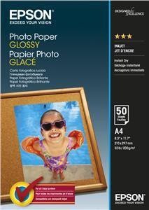 EPSON Photo Paper Glossy A4, 200g/m2, 50 listů
