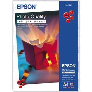 EPSON Photo Quality Inkjet Paper A4, 102g/m2, 100 listů