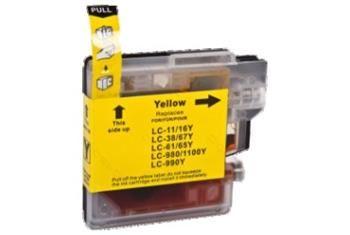 PRINTWELL LC1100Y kompatibilní inkoustová kazeta