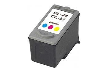 PRINTWELL CL-41 kompatibilní inkoustová kazeta, barva náplně azurová/purpurová/žlutá, 320 stran