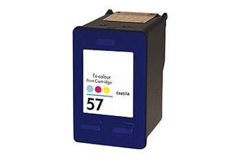 PRINTWELL C6657AE (No.57) kompatibilní inkoustová kazeta, barva náplně azurová/purpurová/žlutá, 500 stran