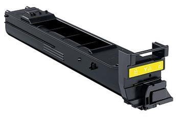 PRINTWELL A0DK251 kompatibilní tonerová kazeta, barva náplně žlutá, 8000 stran