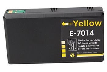 PRINTWELL T7014 kompatibilní inkoustová kazeta, barva náplně žlutá, 3400 stran