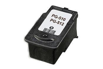 PRINTWELL PG-512 kompatibilní inkoustová kazeta, barva náplně černá, 420 stran