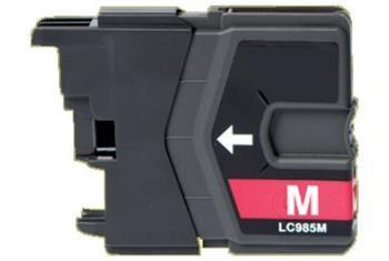 PRINTWELL LC985M kompatibilní inkoustová kazeta, barva náplně purpurová, 260 stran