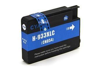 PRINTWELL CN054AE (No.933 XL) kompatibilní inkoustová kazeta, barva náplně azurová, 1000 stran