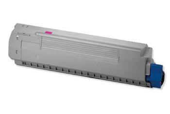 PRINTWELL 44059106 (OKI C810/C830; MAGENTA) kompatibilní tonerová kazeta, barva náplně purpurová, 8000 stran