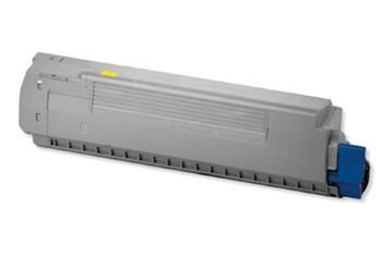 PRINTWELL 44059105 (OKI C810/C830; YELLOW) kompatibilní tonerová kazeta, barva náplně žlutá, 8000 stran