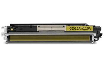 PRINTWELL CE312A (126A YELLOW) tonerová kazeta PICASSO, barva náplně žlutá, 1000 stran