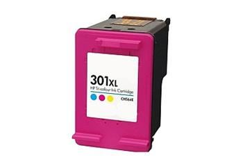 PRINTWELL CH564EE (No.301 XL) inkoustová kazeta NEW CHIP, barva náplně azurová/purpurová/žlutá, 330 stran