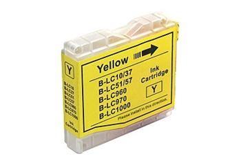 PRINTWELL LC-1000 Y kompatibilní inkoustová kazeta