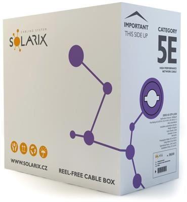 Solarix instalační kabel  CAT5E UTP LSOH 305m/box SXKD-5E-UTP-LSOH