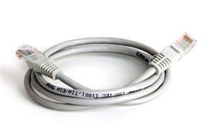EuroLan Comfort patch  kabel UTP, Cat6, AWG24, ROHS, 1m, šedý