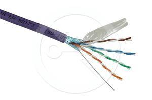Solarix instalační kabel  CAT5E FTP LSOH 500m/cívka SXKD-5E-FTP-LSOH