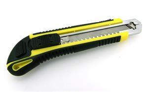 EuroLan nůž kovový vysouvací s aretací (4ks náhradních)