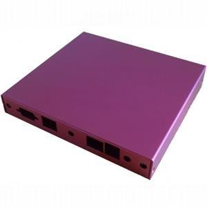 Montážní krabice pro ALIX.2, 2x LAN, USB, červená