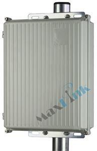 MaxLink AluBox hliníková vodotěsná univerzální montážní krabice pro MikroTik RouterBoard