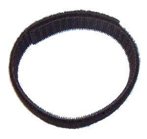 Solarix suchý zip oboustranný černý, šířka 10mm, balení 25m