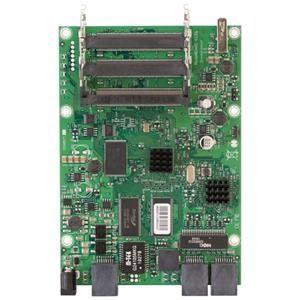 MikroTik RouterBOARD RB433GL, 680MHz Atheros CPU, 128MB RAM, 3 Gigabit LAN, 3 miniPCI, USB,RouterOS L5