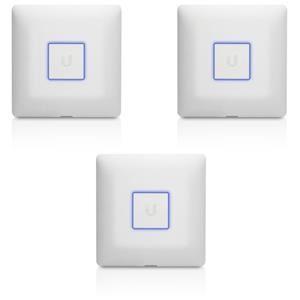 UBNT UniFi AP AC, vnitřní, 2.4GHz/5GHz AC, 3x3 MIMO, 3-pack