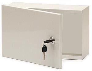 Rozvodná skříň 300x200x120, plechové dveře, uzamykatelná bez ventilace