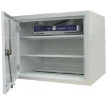 Rozvodná skříň 380x300x300, plechové dveře, pro 3 přijímače s ventilací