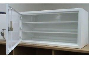 Rozvodná skříň 600x300x300, plechové dveře, pro 6 přijímačů s ventilací