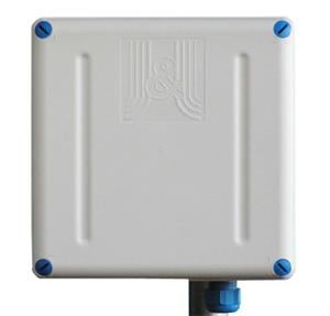 Jirous GentleBox JC-220UF-L • Duplexní panelová anténa 2x17dBi s integrovaným outdoor boxem
