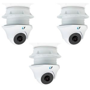 UBNT airVision UVC Dome, UniFi Video Camera, Dome, IR - 3-pack