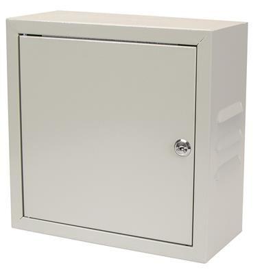 Rozvodná skříň 300x300x140 plechová s ventilací, uzamykatelná