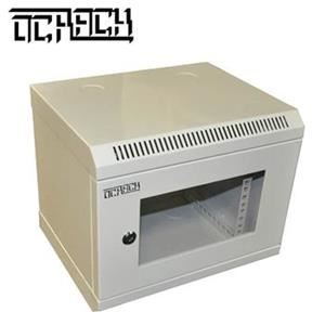 10' OCRACK OCC-10-4U-S rozvaděč nástěnný 4U/280mm skleněné dveře