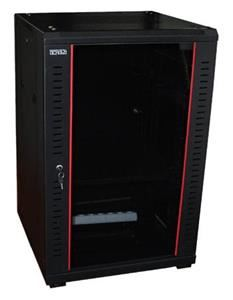 19' OCRACK OCC-25U-68SBK rozvaděč stojanový 25U/600x800 skleněné dveře