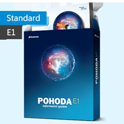 POHODA Standard 2017 E1 - daňová evidence, sklady, mzdy - Licence na 1.počítač