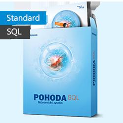 POHODA Standard 2017 SQL - daňová evidence, sklady, mzdy - Síťová verze na 4-5.počítače