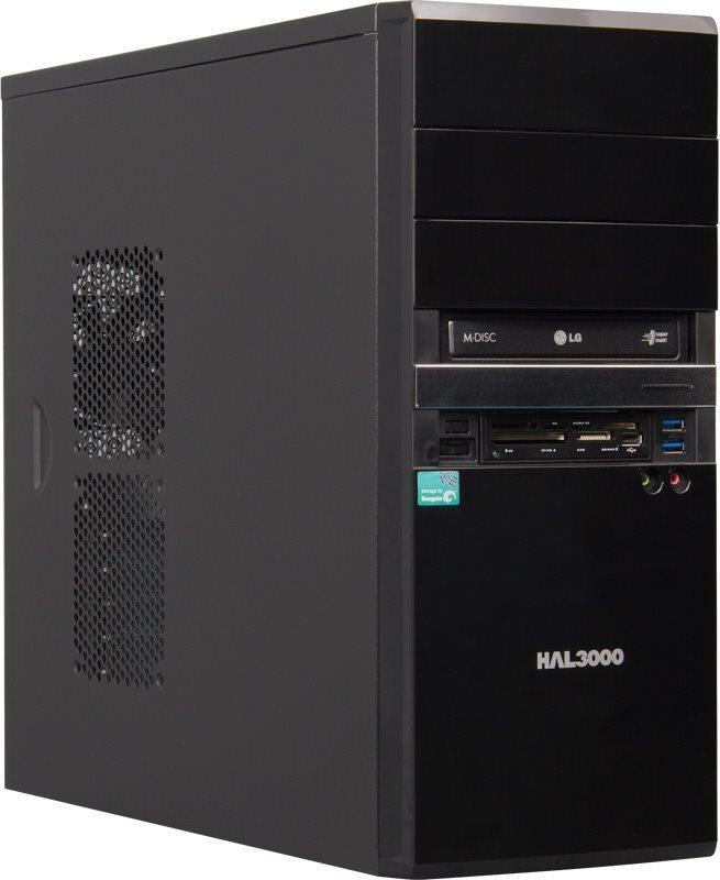 HAL3000 EliteNet/ AMD A8-7600/ 4GB/ 1TB/ Radeon R7 / DVD/ bez OS