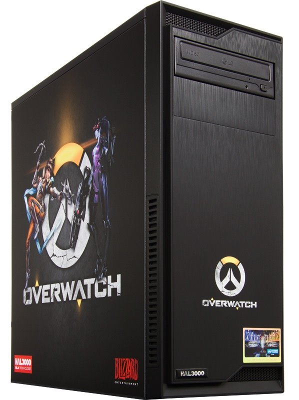 HAL3000 IEM Certified PC Overwatch by MSI / Intel i5-7400/ 16GB/ GTX 1060/ 120GB SSD + 1TB HDD/ DVD/ W10