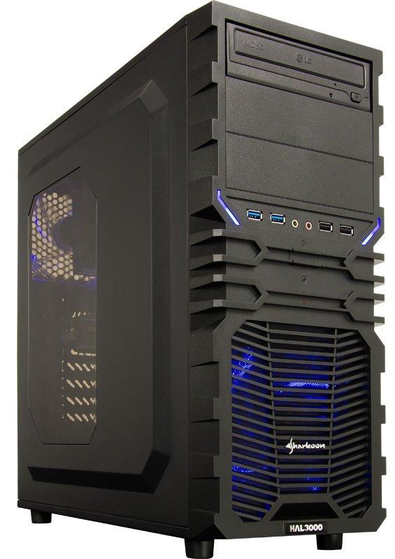 HAL3000 Battlebox Essential IEM Certified by MSI/ Intel i5-7400/ 16GB/ GTX 1060/ 120GB SSD + 1TB HDD/ DVD/ W10