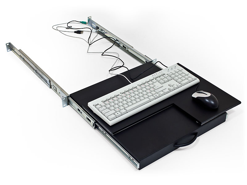 Triton Polička výsuvná zamykatelná pro klávesnici a myš