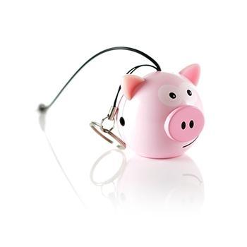 Reproduktor KITSOUND Mini Buddy Pig, 3,5 mm jack