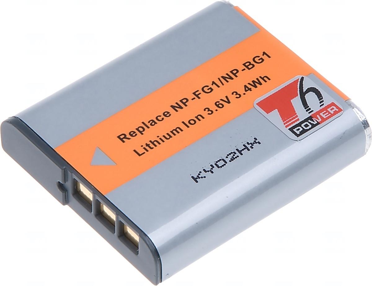 Baterie T6 power Sony NP-BG1, 950mAh, šedá (Baterie a gripy)