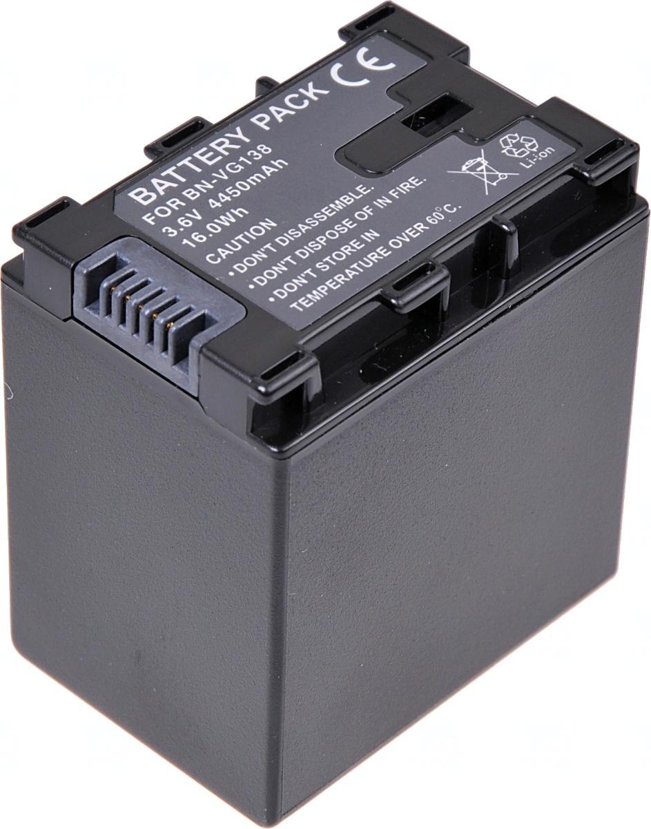 Baterie T6 power JVC BN-VG138, 4450mAh, černá (Baterie a gripy)