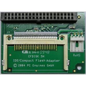 Redukce CF - IDE přímá úhlová, 40 pin, FDD napájení, CF5HS (CF5HS)