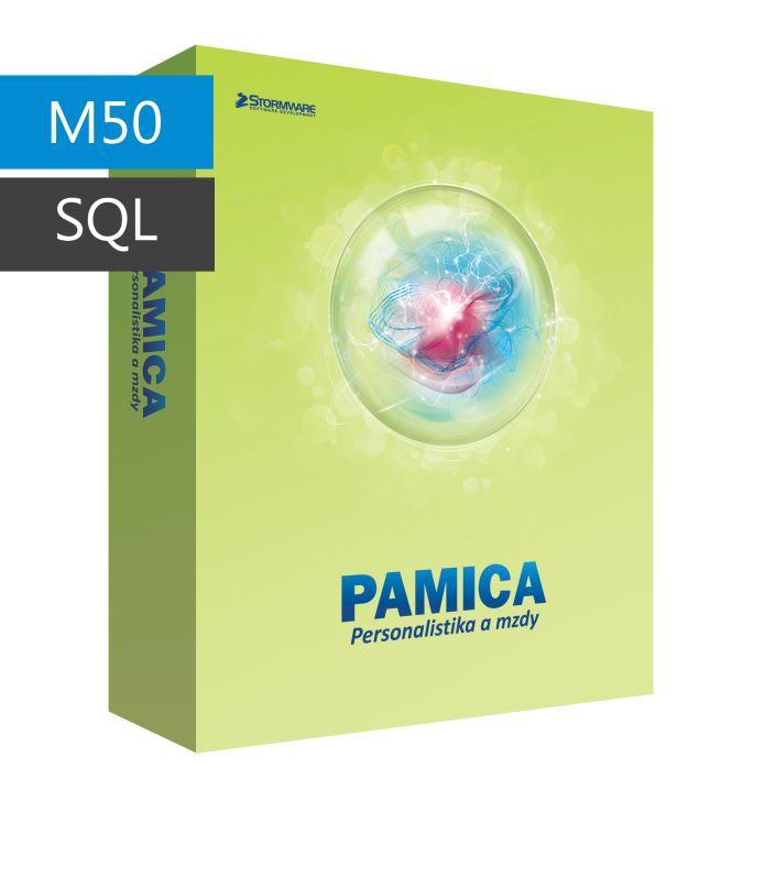 PAMICA 2017 SQL M50 CAL - síťová přídavná licence pro 1 počítač